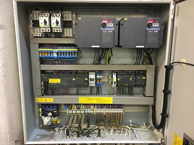 Värvikambri ventilatsiooni juhtimise ümberehitamine.
